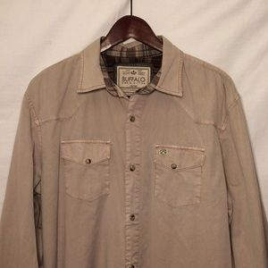 Buffalo David Button Quality Button Down